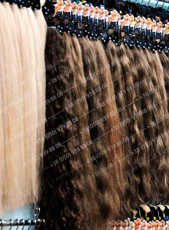 ассортимент натуральных волос